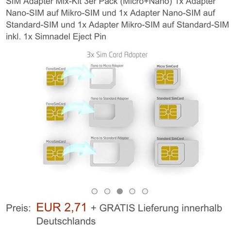 sim adapter - (iPhone, aktivieren)