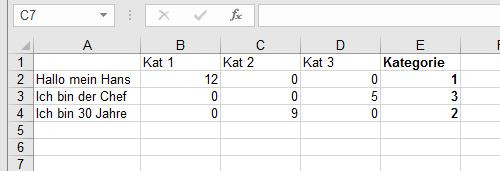 - (Excel, Textverarbeitung)