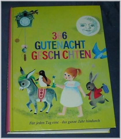 366 Gutenacht Geschichten - (Kinderbuch, Gutenachtgeschichten)