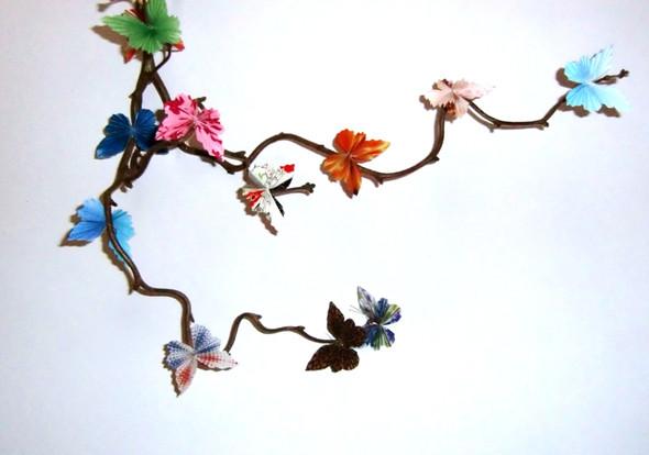 Schmetterlinge - (Kinder, basteln)