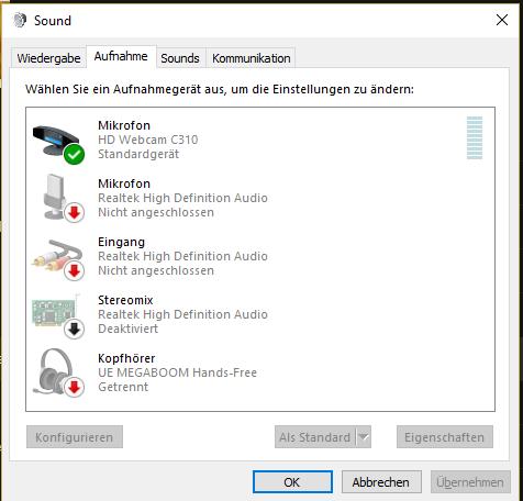 - (Computer, PC, audio)