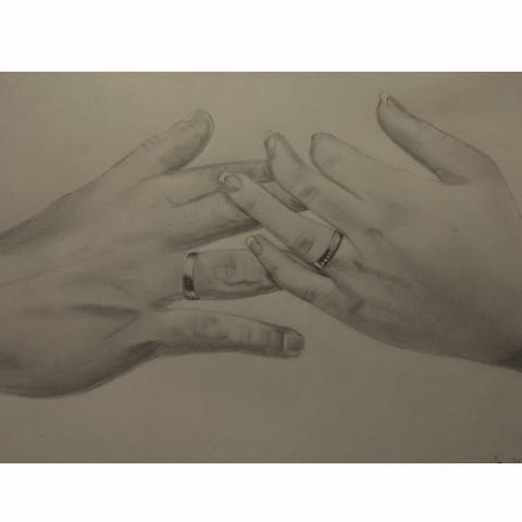 Hände - (red, apored)