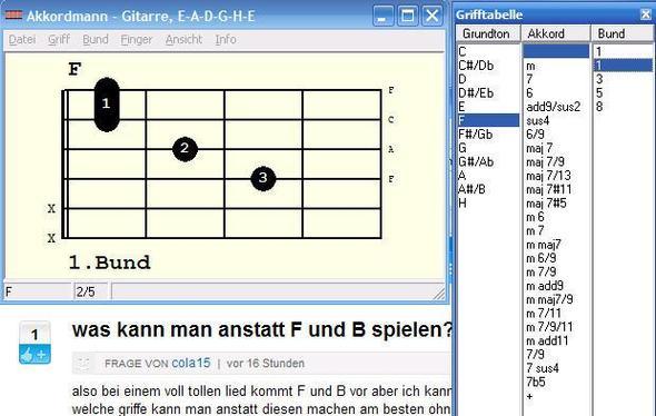 F-Dur - (Lied, Gitarre)