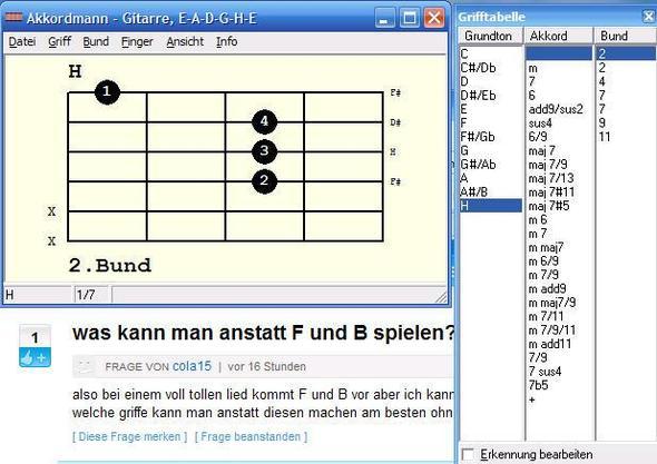 H-Dur - (Lied, Gitarre)