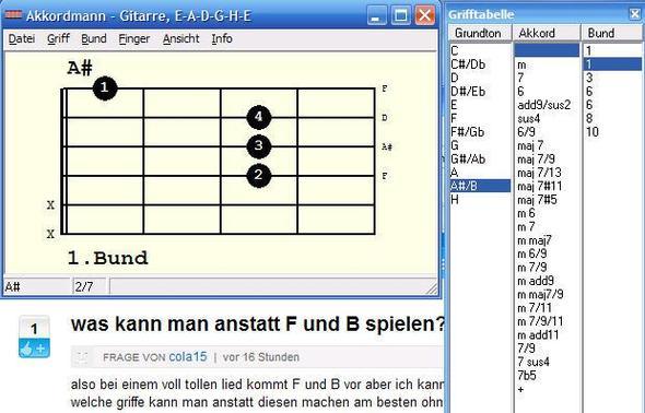 B-flat oder A-sharp - (Lied, Gitarre)
