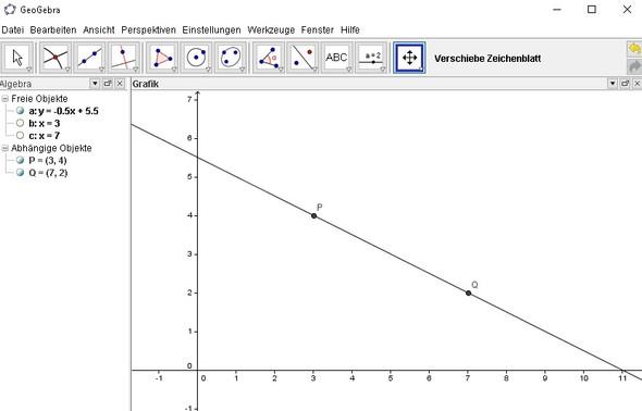 Geogebra - (Schule, Mathe, Mathematik)