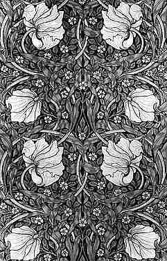 Jugendstil-Muster - (Beauty, Mode, Reise)