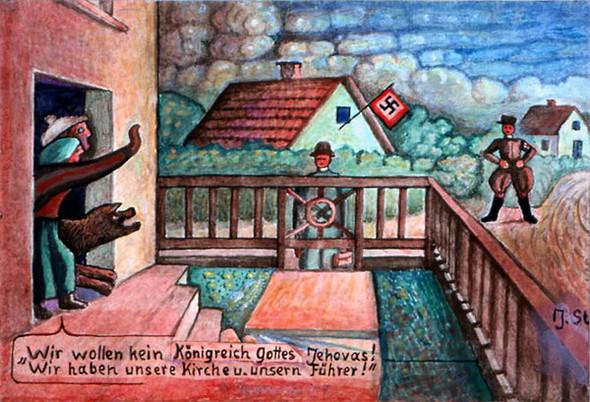 """""""Hitler ist unser Messias"""" hörten Zeugen Jehovas an vielen Türen - (Freizeit, Religion, Christentum)"""