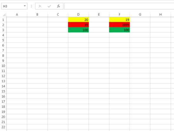 Beispielbild - (Excel, Spalten vergleichen)