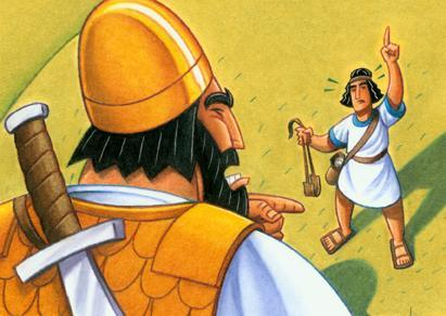 Als Goliath den David sah, da hat er gelacht. - (Körper, Frauen, Fitness)