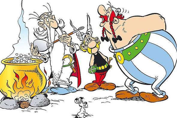 Und wie war das bei Asterix und Obelix ? - (Körper, Frauen, Fitness)