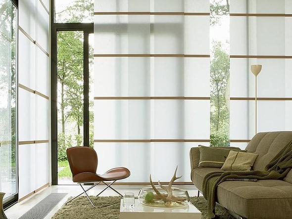 japanischer flächenvorhang - von leha - (Kreativität, Dekoration, Vorhang)