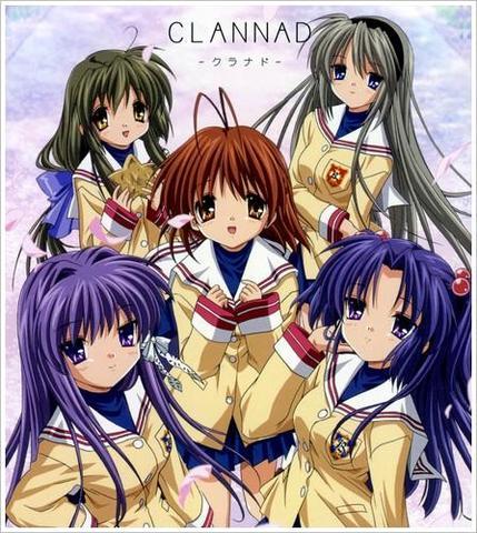 Clannad - (Anime, Elfenlied)