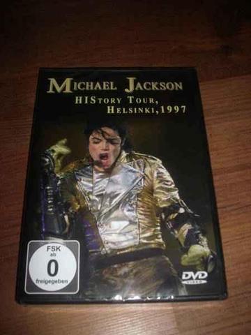 "DVD""Michael Jackson History-Tour Helsinki, 1997"" - (Musik, Freizeit)"