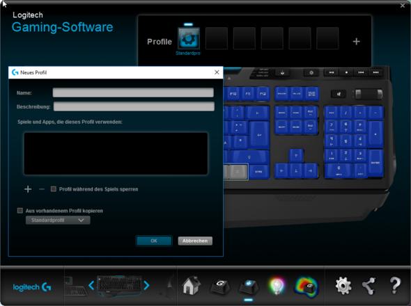 Logitech G910 Tastatur Farbdesign An Profil Anpassen Pc Gaming