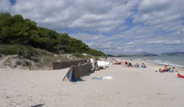 Playa de Muro im Oktober 2010 bei 24 Grad - (Reise, Mallorca)