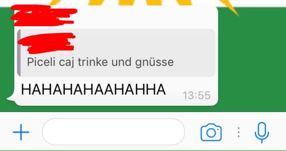 - (WhatsApp, Markieren)