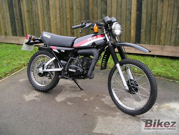 Yamaha DT 175  - (Motorrad, Yamaha, A1)