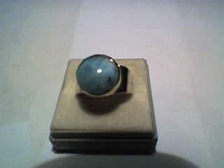 Larimar-Ring - (England, Metall, Strand)