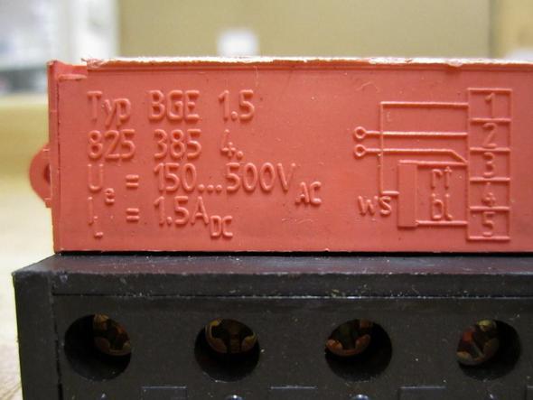 SEW BGE 1.5  a) - (Motor, Elektrik, Elektrotechnik)