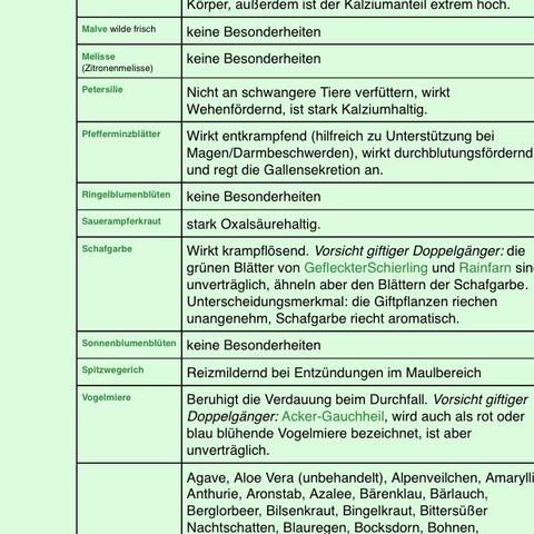 3 Liste - (Tiere, Hamster, Zwerghamster)