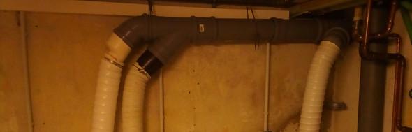 Das besagte Abwasserrohr - (Wasser, Installation, Wäsche)