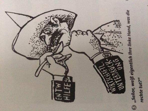 - (Wirtschaft, Karikatur)