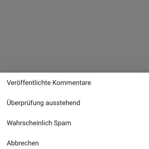 Youtube Spam Kommentare