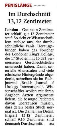 PLänge - (Sex, Deutschland, Penis)