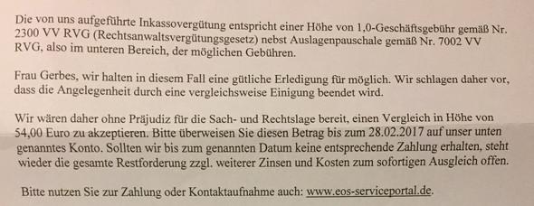 - (Anwalt, Inkasso, Otto)