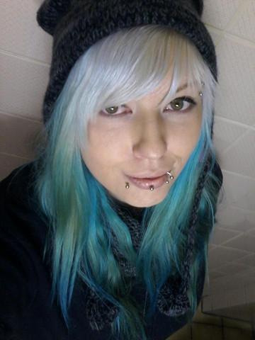 - (Haarfarbe, Chlor)
