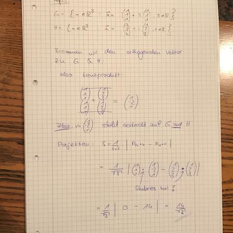Beispiel  - (Mathe, Mathematik, Abitur)
