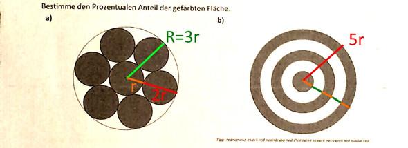 Hilfe - (Mathematik, Kreis, Prozentrechnung)