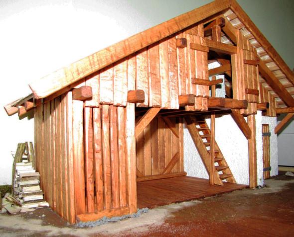 Krippe Eigenbau - (Hobby, Modellbau)