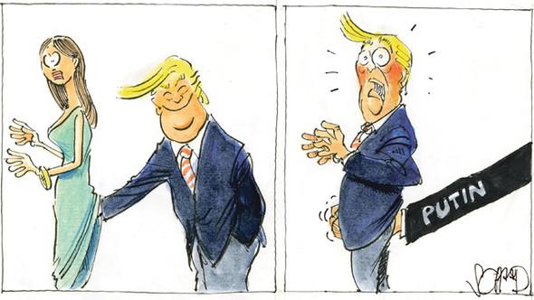 Donald Trump bestreitet, erpressbar zu sein - (Politik, USA, Präsident)