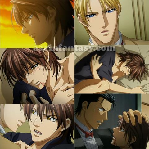 man sieht schon: ist etwas brutaler (Ikoku Irokoi Romantan) - (Anime, Yaoi)
