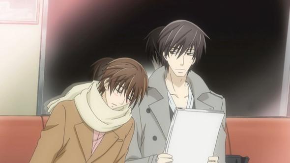 um die Beiden geht es in der Hauptgeschichte (Sekai-Ichi Hatsukoi) - (Anime, Yaoi)