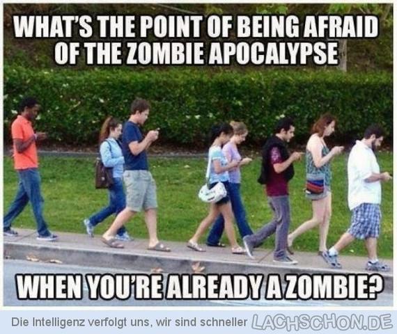 Zombie - (Umfrage, Apokalypse)