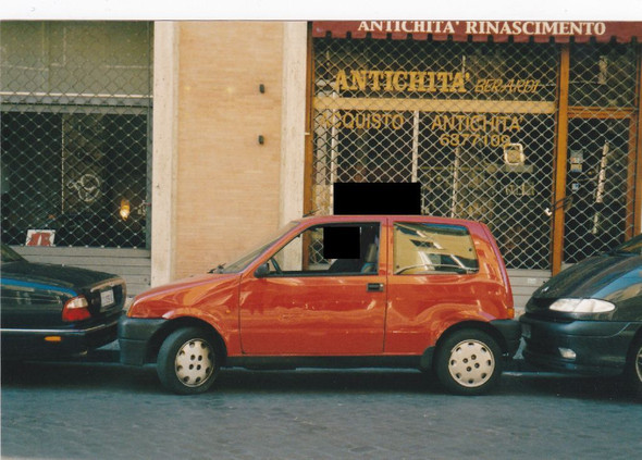 parcheggiare a Roma - (Strafe, Italien, Probezeit)