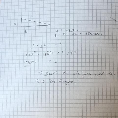 Rechenweg.  - (Mathe, Hausaufgaben)