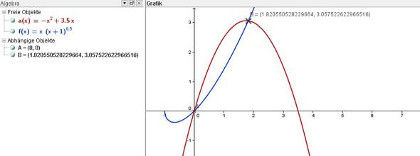 graphische Lösung - (Mathematik, Dreieck)
