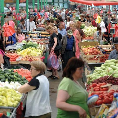 Gemüsemarkt - (Arbeit, Reise, Leben)