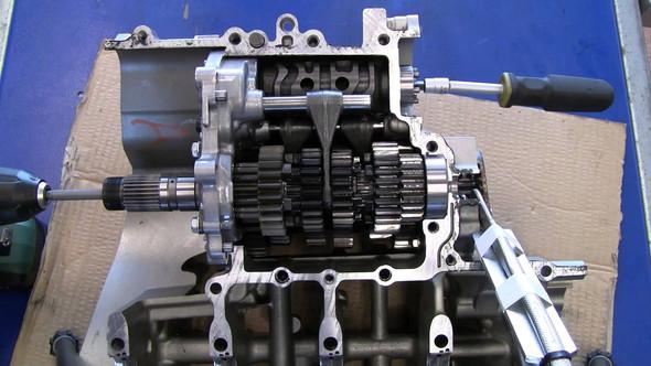 Getriebe Motorrad  - (Motorrad, Schaltung)