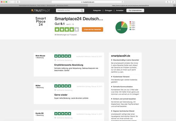 - (Freizeit, Smartplace24, Erfahrung mit Smartplace24)