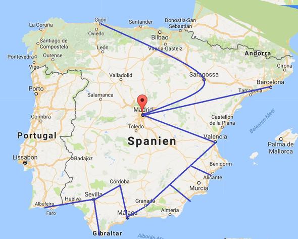 - (Reise, Tage, Spanien)