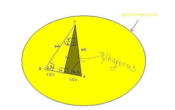 gleichschenkliges dreieck auch gleich rechtwinkliges dreieck mathe mathematik rechnen. Black Bedroom Furniture Sets. Home Design Ideas