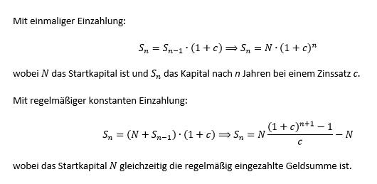 - (Geld, Mathe, Zinsen)