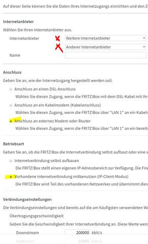 Fritzbox 7490 An Telekom Glasfaser Modem Anschliessen Fritz Box