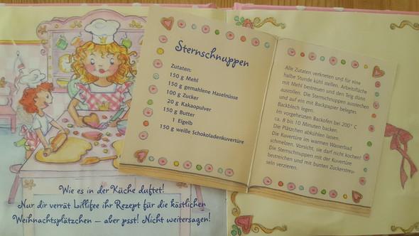 Weihnachtsplätzchenrezept Prinzessin Lillifee  - (Rezept, Lillifee)