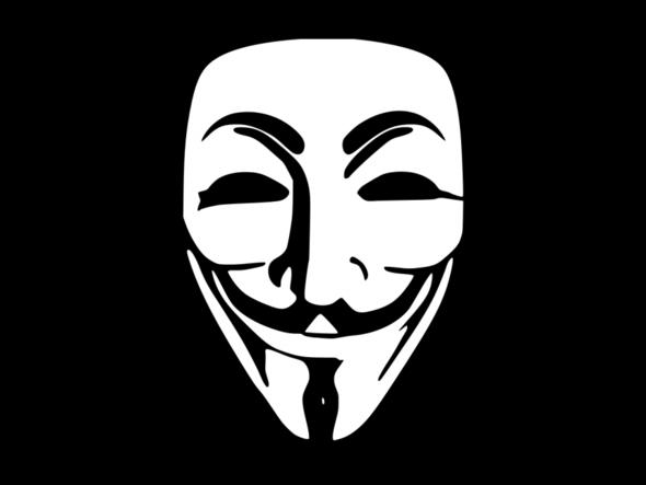 Anonymous maske - (Kleidung, Hacker)